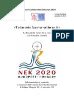 Congreso Eucaristino Inter. 13-20 de Sep