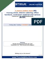 Voertuigen 29442 Bouw, Grondverzet en Infra Sector UK