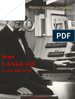 Langlais, Marie-Louise; Jean Langlais Remembered