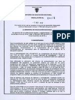 Resolucion Acreditacion LIC SOCIALES 2017