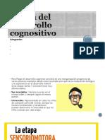 Teoria Del Desarrollo Cognositivo, primera etapa y sus sub-etapas