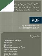 cigras 2013 - auditora y seguridad de ti - estado del arte y aplicacin en entidades bancarias nicols serrano.pdf