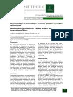 Nanomateriales en odontología