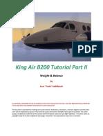 B200 - King Air B200 Tutorial Part II