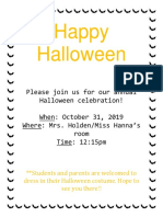 elm-490 halloween invitation