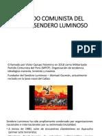 PARTIDO COMUNISTA DEL PERU – SENDERO LUMINOSO.pptx