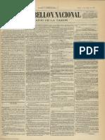 El Pabellón Nacional (Madrid). 11-10-1878