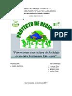 Proyecto de Reciclaje de Basura