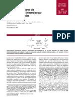Synthesis of Lactams via Copper-Catalyzed Intramolecular Vinylation of Amides