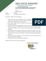 Surat Pernyataan Dan Peralatan