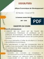 Politique économique du développement