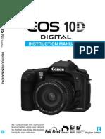 Canon 10D manual