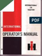 IH 274 Operator Manual