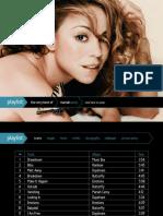 Playlist Mariah Carey