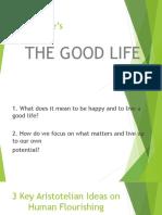 Aristotle's the Good Life