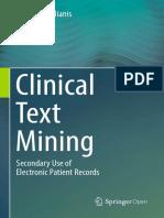 Clínical Text Mining