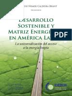 Desarrollo Sostenible y Matriz Energética en América Latina (KAS)