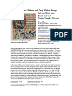 Englands Early Modern History