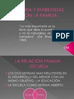 Tutoria y Entrevistas Con La Familia