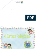 Carpeta Pedagogica 2018 Santa Maria Ok