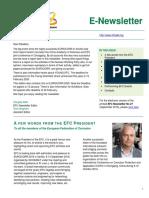 Efc newsletter