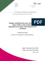 CANET - Display Multifunción Para Visualizar Datos NMEA 0183 Mediante Dispositivos de Bajo Coste ...
