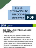 Ley de Regulacion de Ejercicio de Enfermeria Ppt