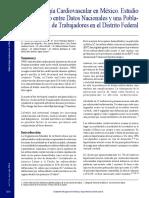 Epidemiologia cardiovascular en Mexico.pdf