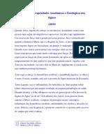 Astro-Diagnose - Um Guia Para a Cura Definitiva - Max Heindel e Augusta Foss Heindel - Capitulo I - Propriedades Anatomicas e Fisiologicas Dos Signos