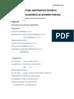 Producto académico N°2 -matematica discreta