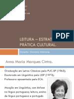 Leitura – Estratégias e Prática Cultural