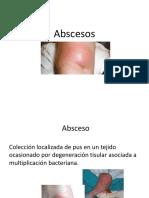Fisiopatología absceso