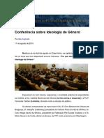 Conferência Sobre Ideologia de Gênero