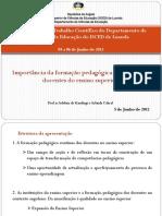 Importância da formação pedagógica contínua dos docentes do ensino superior.pdf