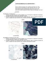 Identificacion Minerales Optica