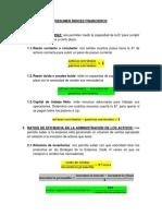 APUNTES DE INDICES FINANCIEROS (resumen básico)