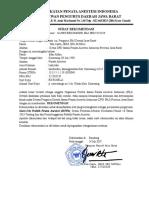Surat Rekom Sippa Irfan Alfian