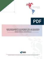 Empoderamiento Económico de Las Mujeres Bueno Para Las Mujeres Bueno Para Los Negocios Bueno Para El Desarrollo