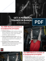 Get a Personal Trainer In Bangkok