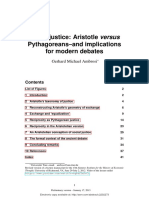 Aristotle and Phytagoreans