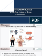Basic Concepts of Cell, Tissue, Organ - Dr. Wiwid