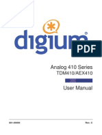 Analog Series Manual