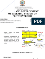 2.0_design and Development of Steering System of Ship