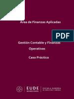 Gestión contable y finanzas operativas - Caso Práctico