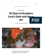 20 Years of Southern Lord's Dark and Heavy Art _ Bandcamp Daily