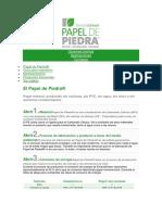 PAPEL DE PIEDRA