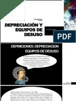 Depreciación y Equipos de Desuso