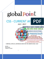 Monthly CSS Current Affairs Global Point July 2017.PDF-1