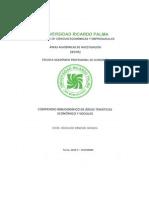 Compendio Bibliográfico de Áreas Temáticas Económico y Sociales