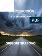 INTRODUCCION A LAS ENSEÑANZAS DE GRABOVOI
